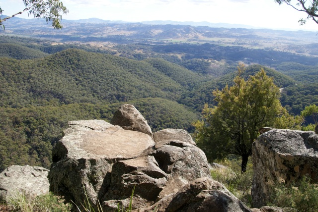 View from Hanging Rock Lookout