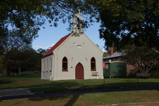 Old church now used for retail at Nundle