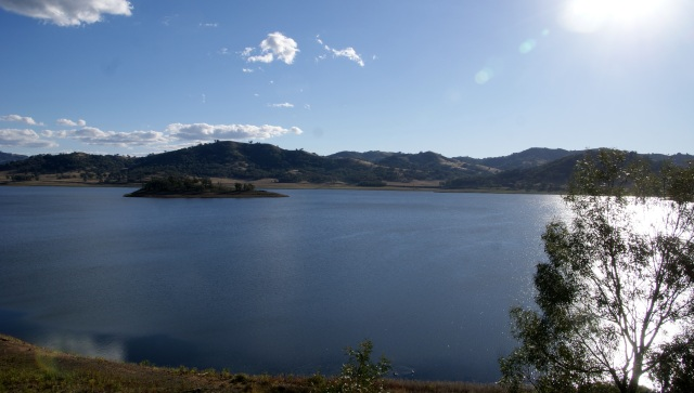 View of the lake - Chaffey Dam