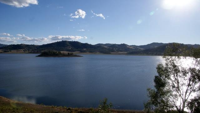 View of the lake - Chaffey Dam