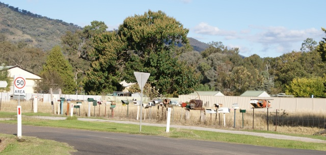 Mail boxes in Woolomin