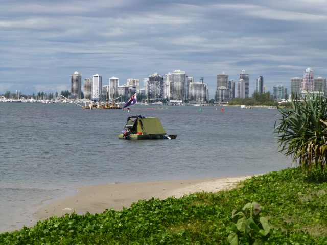 VIew along the Broadwater