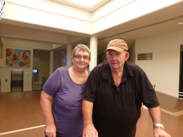 Raelene and Bob