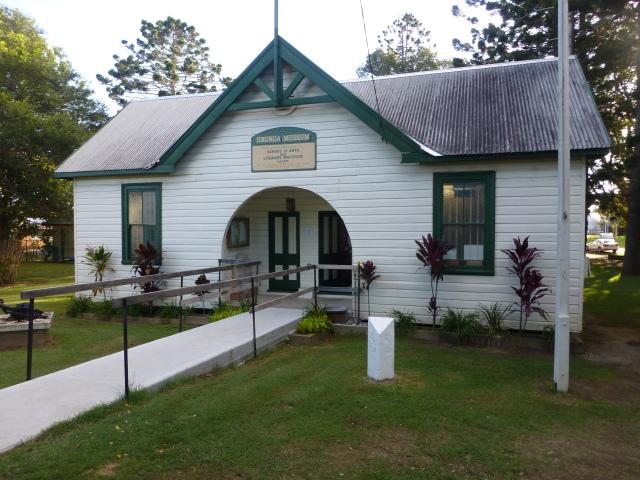 The museum at Urunga