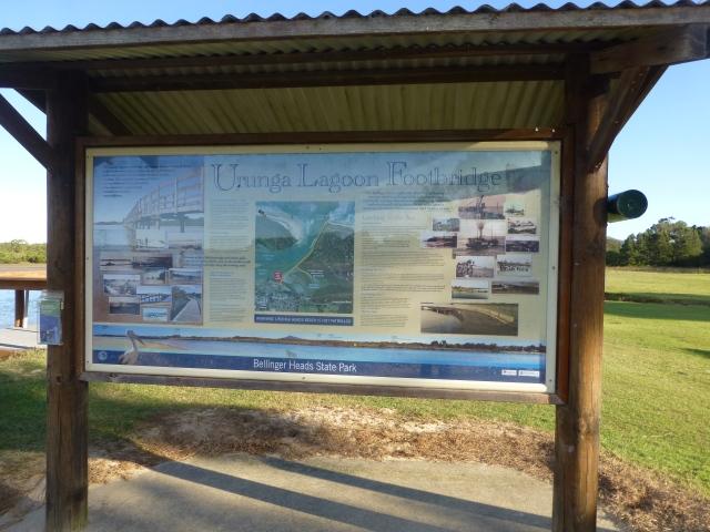 The Board Walk information board