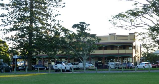 Hotel at Urunga