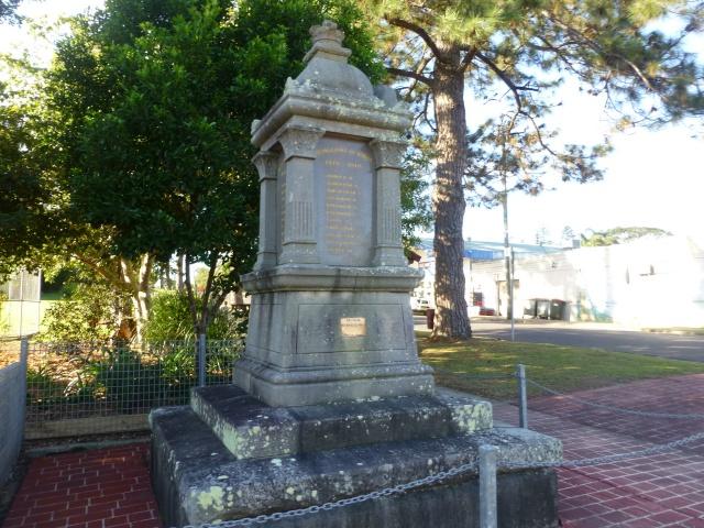 Cenotaph at Urunga
