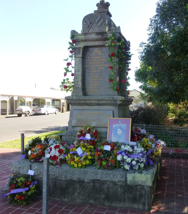 After the Anzac Day ceremonies