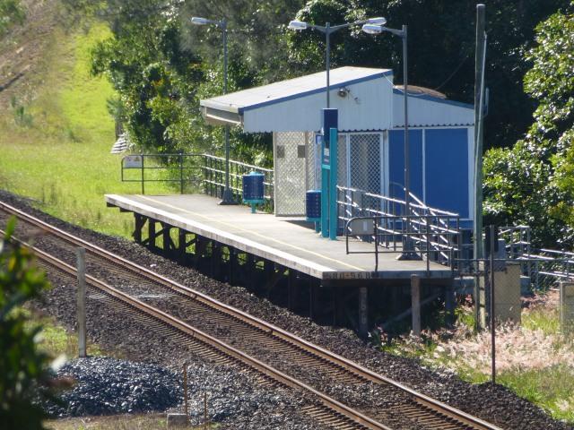 Railway Station at Urunga