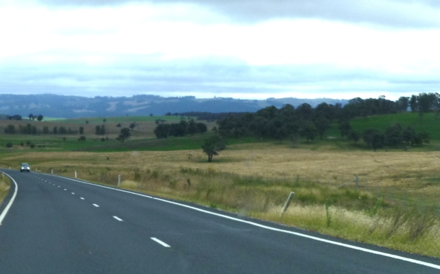 On the road to Walcha