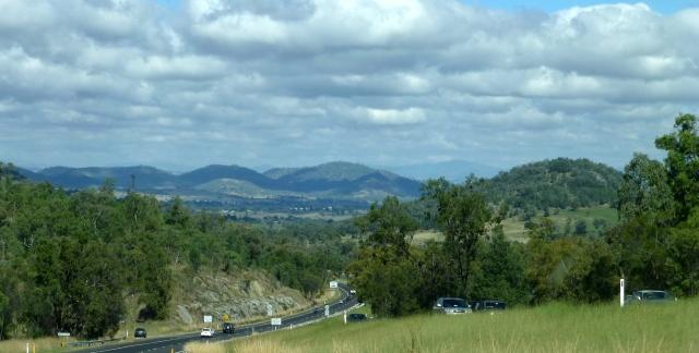 Approaching Tamworth