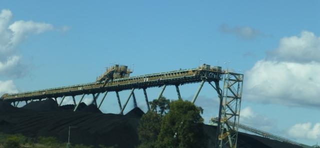 Coal infrastructure at Ulan