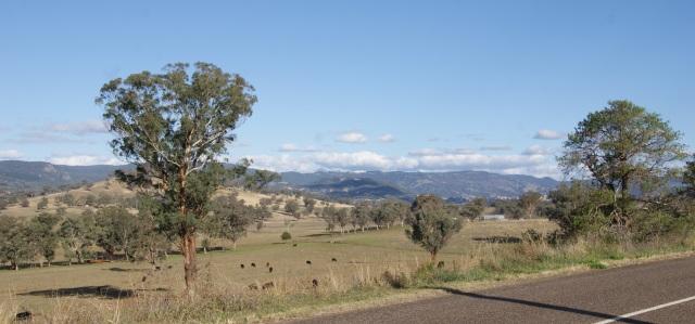 Nice country around Nundle