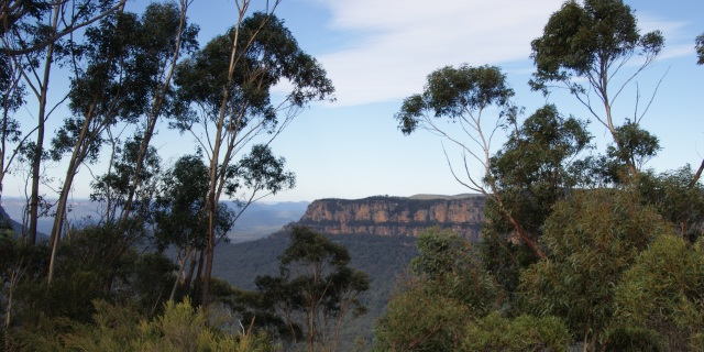 Escarpment in the Blue Mountains