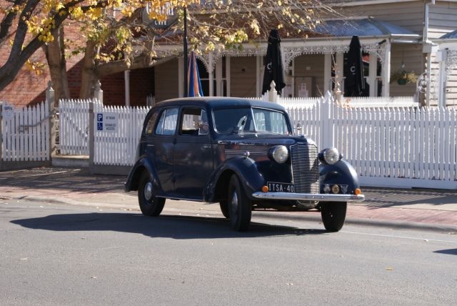 This old Vauxhall was in everyday use at Tatura