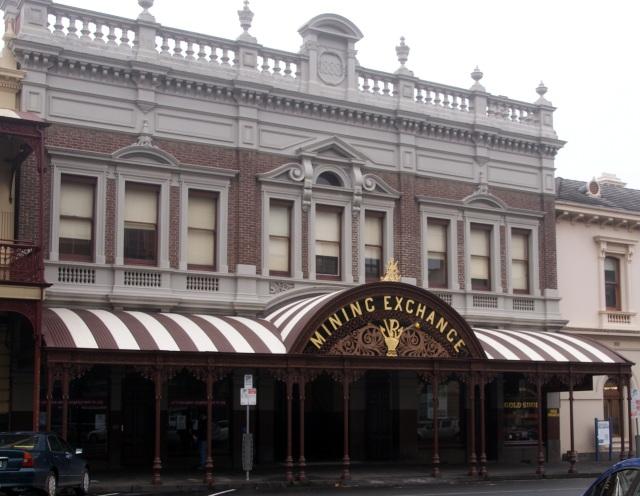 Mining Exchange Building in Ballarat