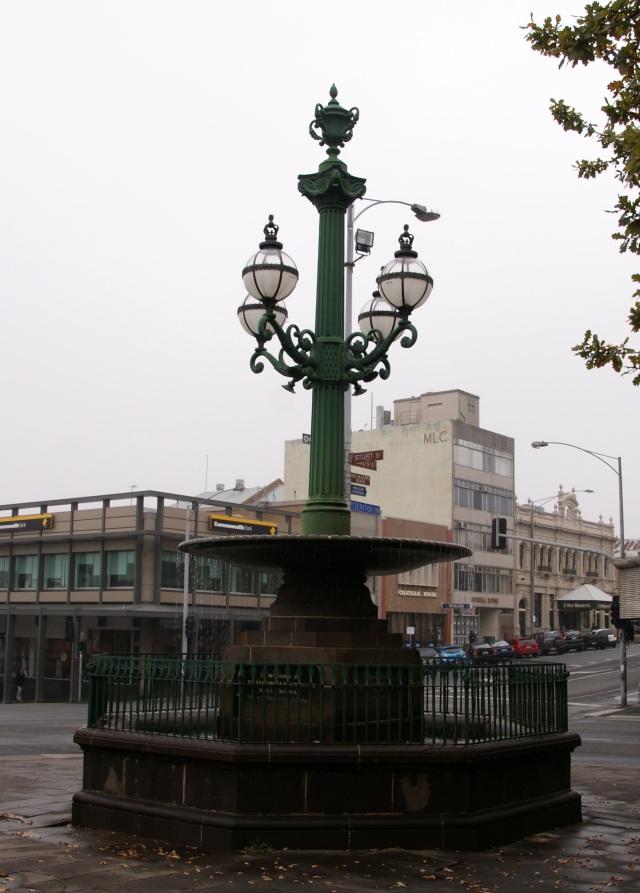 Burke & Wills Fountain in Sturt Street Ballarat