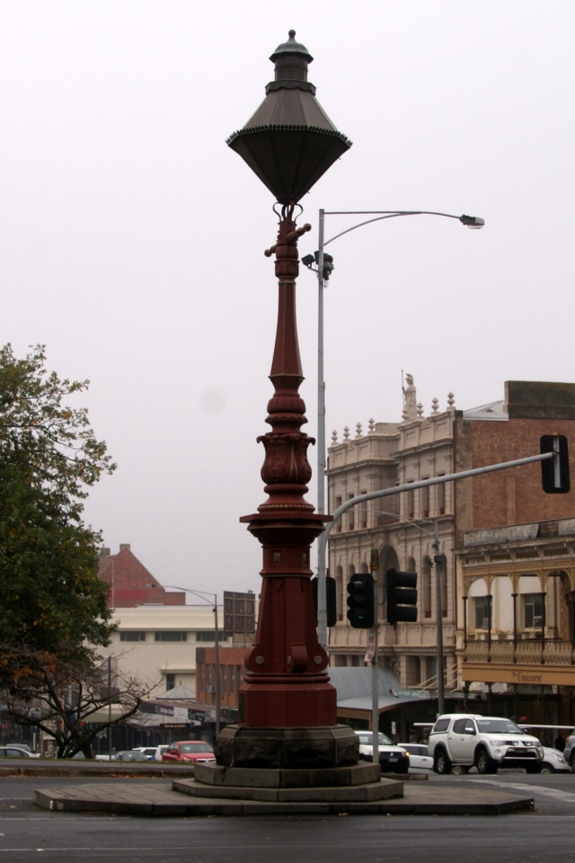 One of several Sugg Lamps in the CBD of Ballarat