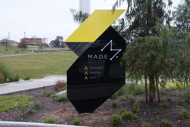 Entrance to MADE in Ballarat