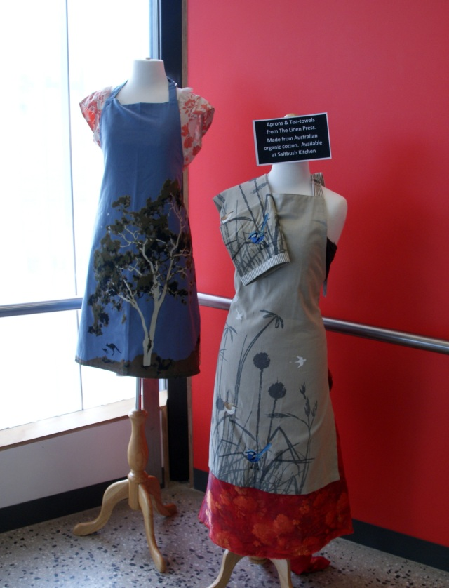 Aprons and Tea Towels on sale at MADE