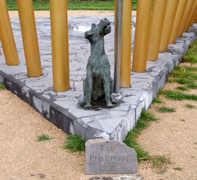 The Pikeman's Dog Memorial at MADE