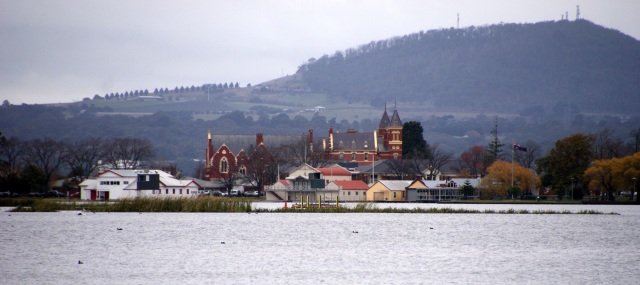 View across Lake Wendouree