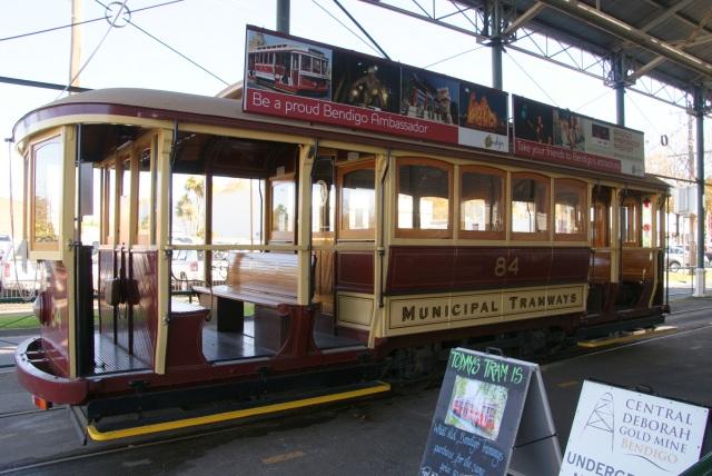 Old Tram at Central Deborah Mine site