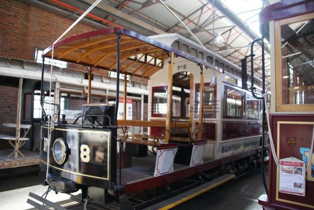 Restored Tram No. 8