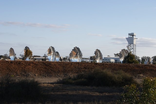 Solar Arrays at the Solar Test Site at Bridgewater on Loddon