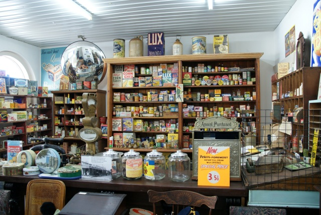 Grocery museum at Inglewood