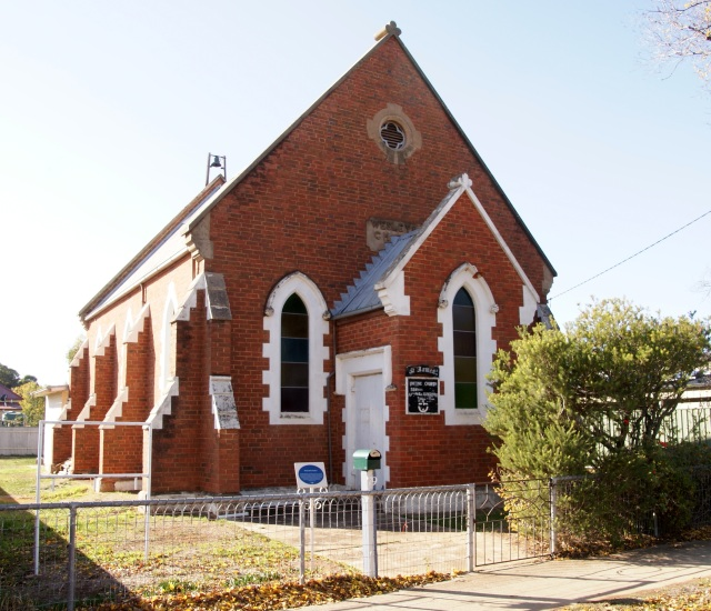 Old Wesleyan church at Inglewood