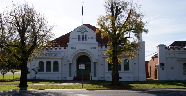 Memorial Hall at Boort