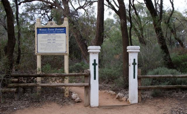 Mildura Station Graveyard