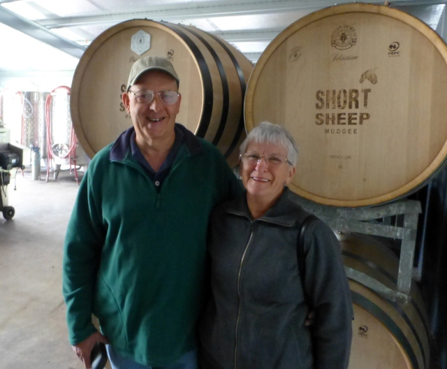 Here we are at Short Sheep winery
