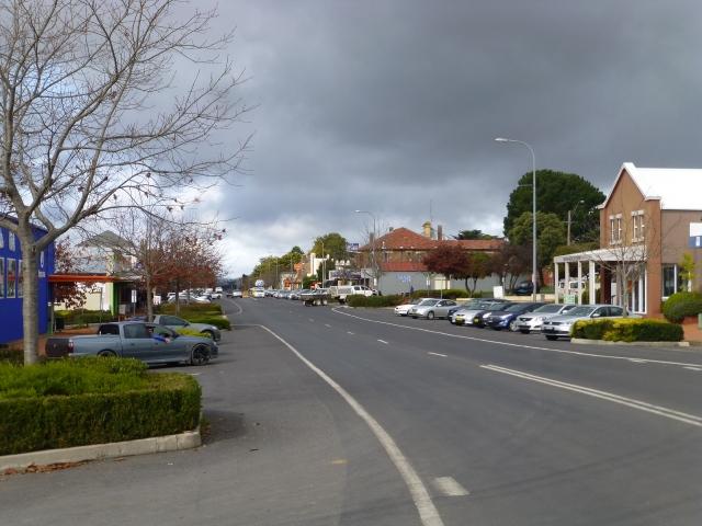 Main street Oberon