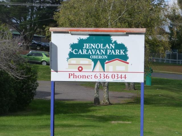 Jenolan Caravan Park at Oberon