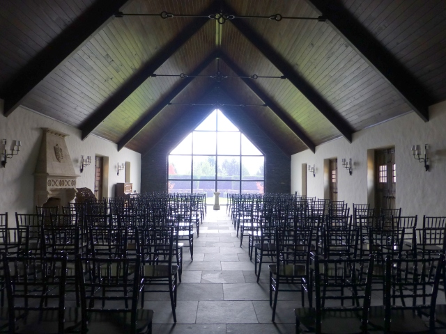 Interior of Chapel at Mayfield Garden
