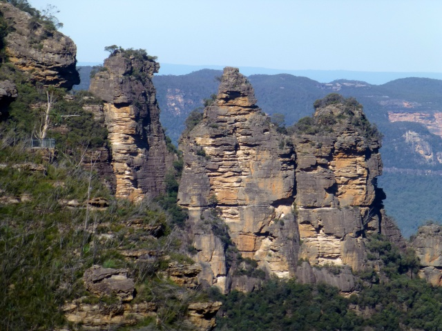 The Three Sisters from Katoomba Falls Lookout