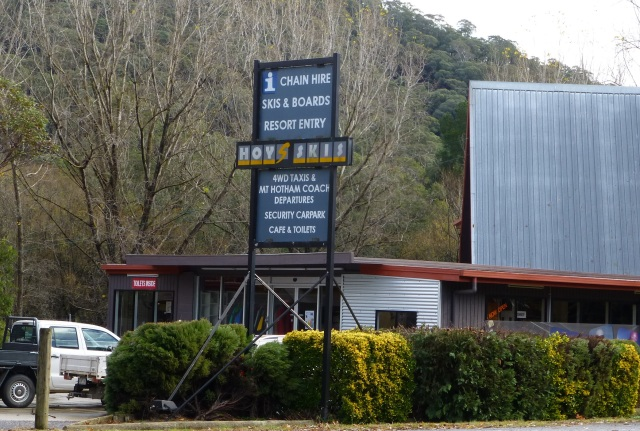 Hoys Skis at Harrietville