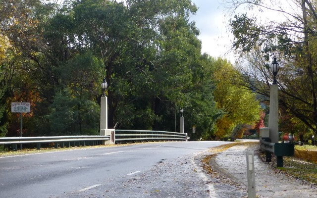 School Bridge at Harrietville