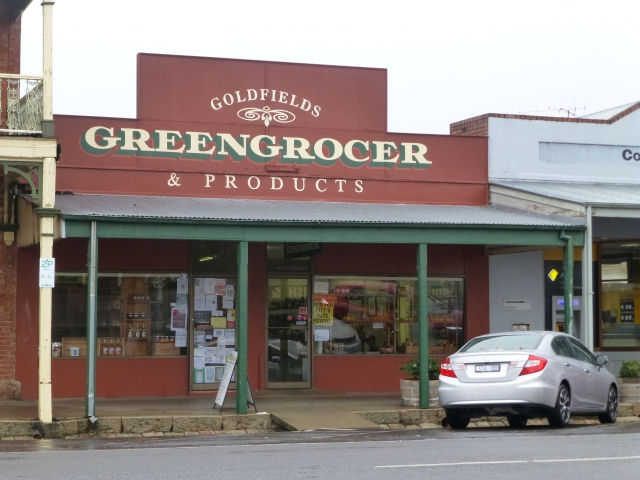 Greengrocer's store