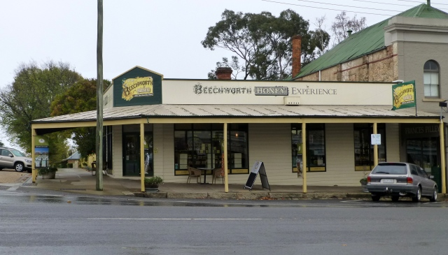 Beechworth Honey at the top of town