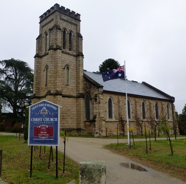 Anglican Church at Beechworth