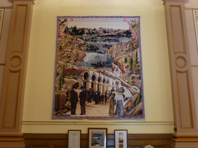 Wall hanging in old Town Hall