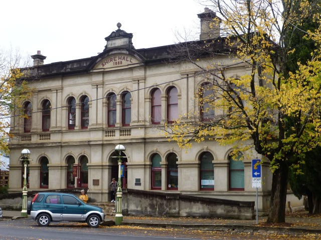 Old Town Hall - Beechworth