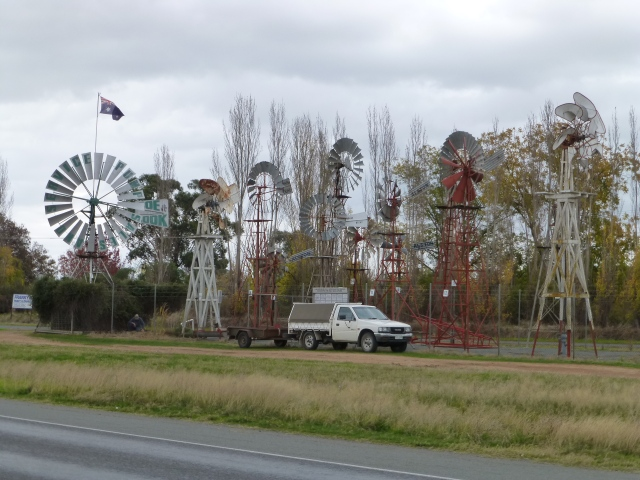 Some people collect stamps - some windmills.