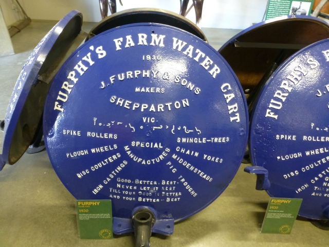 Furphy tanks were made in Shepparton