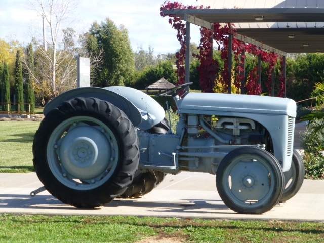 Old Ferguson Tractor at the Motor Museum