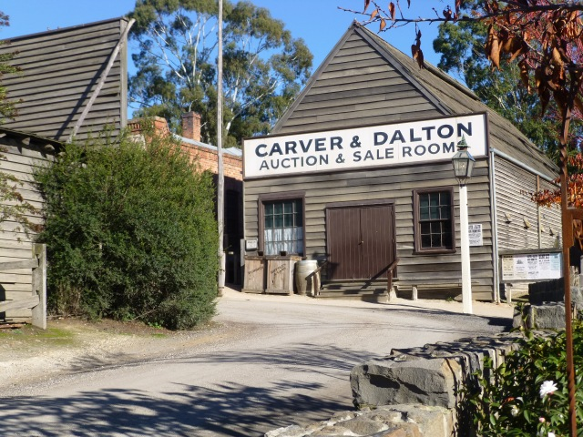 Building at Sovereign Hill