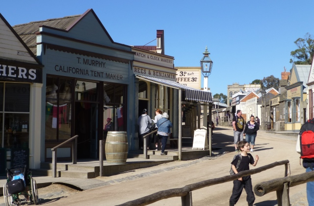 Sovereign Hill street view